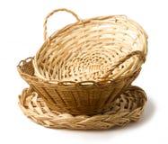 Grupo das cestas Imagem de Stock