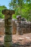 Grupo das 1000 colunas em Chichen Itza, Iucatão, México Fotografia de Stock Royalty Free