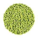Grupo das ervilhas verdes Fotografia de Stock