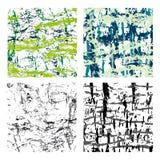 Grupo das texturas 1 Imagem de Stock Royalty Free