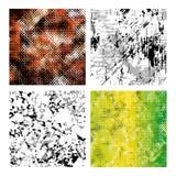 Grupo das texturas 3 Fotos de Stock Royalty Free