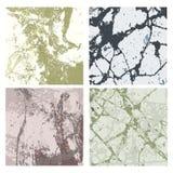 Grupo das texturas 4 Foto de Stock Royalty Free