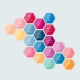 Grupo de ícone alinhado Imagens de Stock