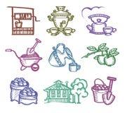 Grupo de ícones. Fotografia de Stock Royalty Free