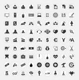 Grupo de ícones da Web Imagens de Stock Royalty Free