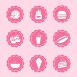 Grupo de ícones da Web Imagens de Stock