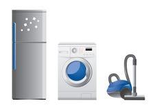 Grupo de ícones do aparelho eletrodoméstico Foto de Stock