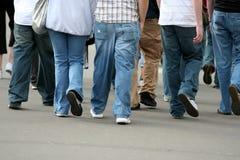 Grupo de adolescentes Imagen de archivo