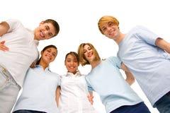 Grupo de adolescentes en grupo Imagen de archivo