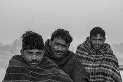 Grupo de aldeanos indios Foto de archivo libre de regalías