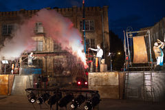 Grupo de Alemanha titânico no espetáculo Fotografia de Stock Royalty Free