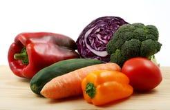 Grupo de alimento saudável Imagem de Stock