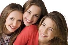Grupo de amigo feliz imagen de archivo