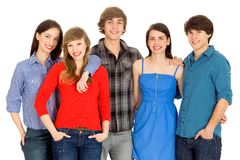 Grupo de amigos Fotografia de Stock Royalty Free