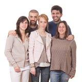 Grupo de amigos Foto de Stock Royalty Free