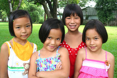 Grupo de amigos Foto de archivo