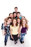 Grupo de amigos del adolescente Fotografía de archivo libre de regalías