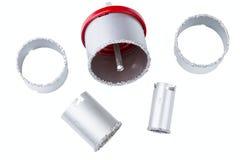 Grupo de anéis abrasivos Foto de Stock Royalty Free