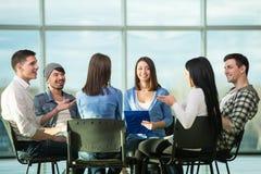 Grupo de apoio Imagem de Stock