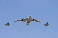 Grupo de aviões Foto de Stock