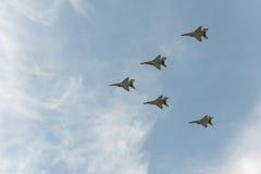 Grupo de aviões Imagens de Stock