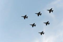 Grupo de aviões Fotos de Stock Royalty Free