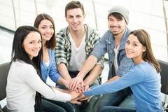 Grupo de ayuda Foto de archivo libre de regalías