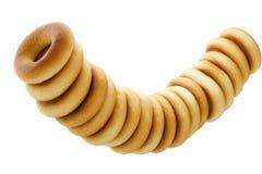 Grupo de bagels rubicund Imagem de Stock Royalty Free
