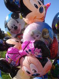 Grupo de balões coloridos Fotografia de Stock Royalty Free