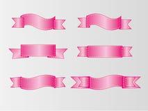 Grupo de bandeira, grupo de fita, fita colorida Fotos de Stock