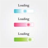 Grupo de bandeira, grupo de fita, fita colorida Imagens de Stock