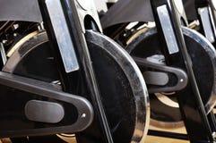 Grupo de bicicletas de giro imagens de stock royalty free