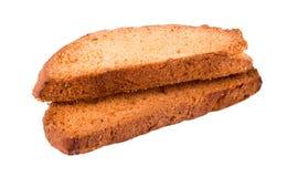 Grupo de bizcochos tostados Fotografía de archivo