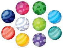 Grupo de bolas Foto de archivo