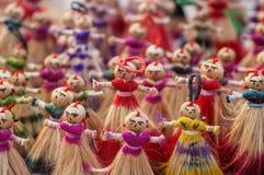 Grupo de bonecas Fotografia de Stock Royalty Free