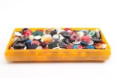 Grupo de botões do vintage Fotos de Stock