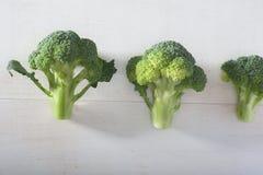 Grupo de brocolies imagem de stock royalty free