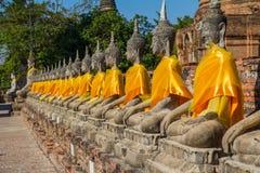 Grupo de Buda Fotografia de Stock