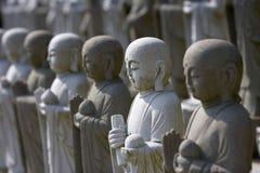 Grupo de Buddhas Meditating Fotos de Stock