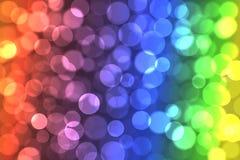 Grupo de círculos de cor. Imagem de Stock