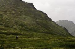 Grupo de caminantes de Alaska Imágenes de archivo libres de regalías