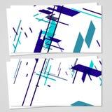 Grupo de cartão do vetor para seu projeto Imagens de Stock