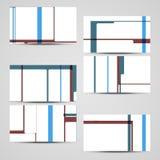 Grupo de cartão do vetor para seu projeto Imagem de Stock