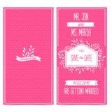 Grupo de cartões, de convite ou de cumprimento vertical ilustração stock