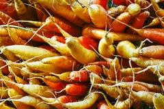 Grupo de cenouras orgânicas fotos de stock royalty free