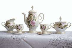 Grupo de chá Imagem de Stock Royalty Free