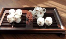 Grupo de chá chinês Fotos de Stock