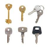 Grupo de chaves Imagens de Stock