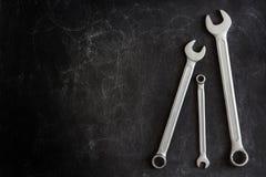 Grupo de 3 chaves Fotografia de Stock