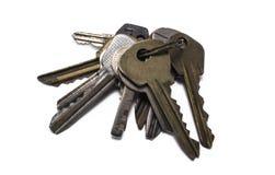Grupo de chaves velhas Imagem de Stock
